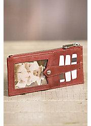 Hobo Linn Slim Leather Wallet