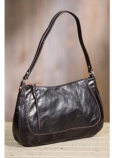 Hobo Rylee Leather Shoulder Bag