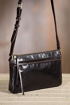 Hobo Tobey Leather Crossbody Handbag