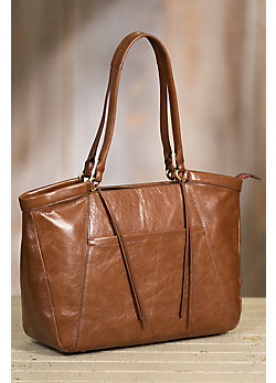 Hobo Maryanna Leather Work Tote Bag