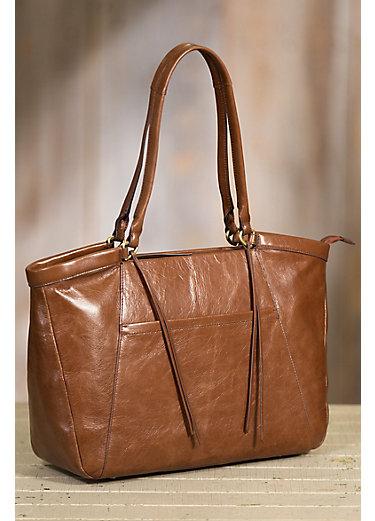 Hobo Maryanna Leather Work Tote Bag