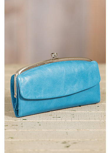 Hobo Tessie Leather Clutch Wallet