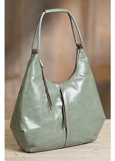 Hobo Harken Leather Shoulder Bag