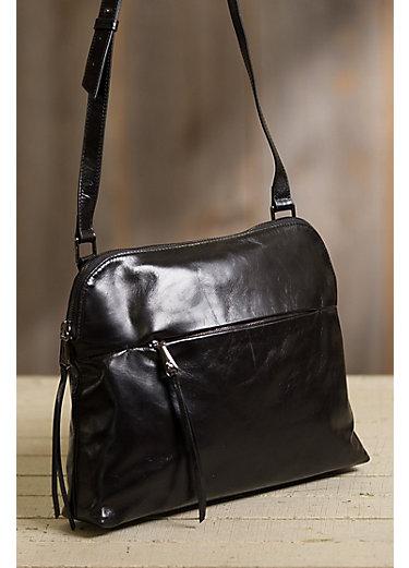 Hobo Rambler Leather Crossbody Handbag