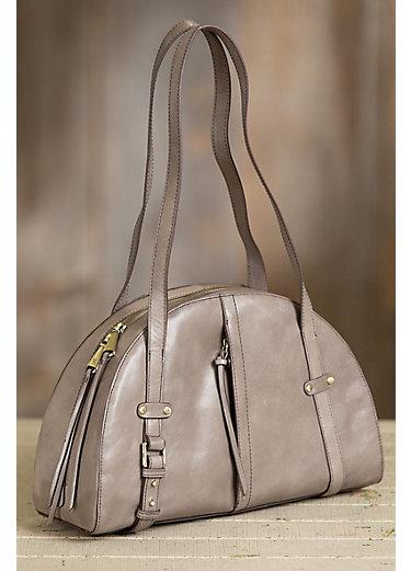 Hobo Beckon Vintage Leather Shoulder Bag