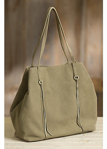 Hobo Kingston Suede Tote Bag