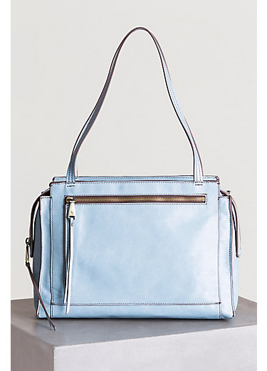 Hobo Affinity Leather Shoulder Bag