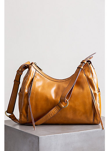 Hobo Horizon Leather Shoulder Bag