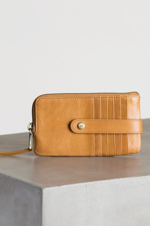 Hobo Flash Leather Credit Card Clutch Wallet