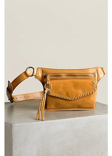 Hobo Brae Vintage Leather Hip Belt Bag