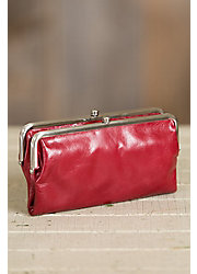 Hobo Lauren Leather Clutch Wallet