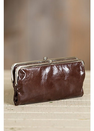Hobo Lauren Leather Clutch Wallet