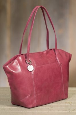 Hobo Patti Leather Tote Bag