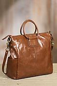Hobo Sheila Leather Crossbody Tote Bag
