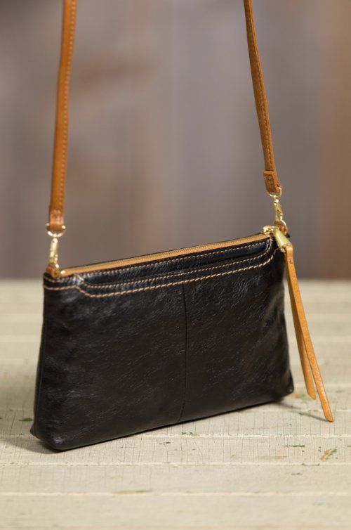Hobo Darcy Leather Crossbody Clutch