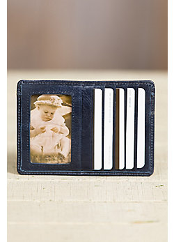 Hobo Euro Slide Vintage Leather Wallet