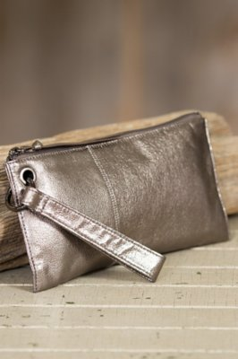 Hobo Vida Leather Wristlet Wallet