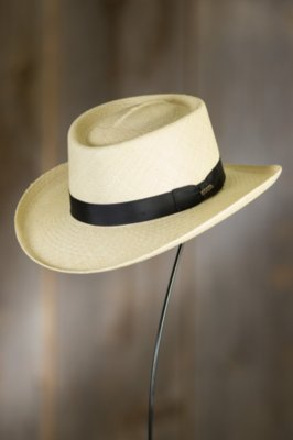 Panama Gambler Straw Hat