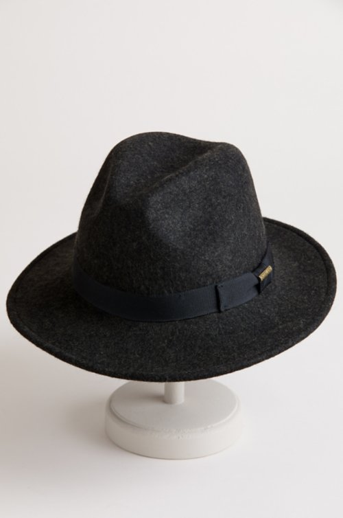 Overland Crushable Wool Felt Fedora Hat