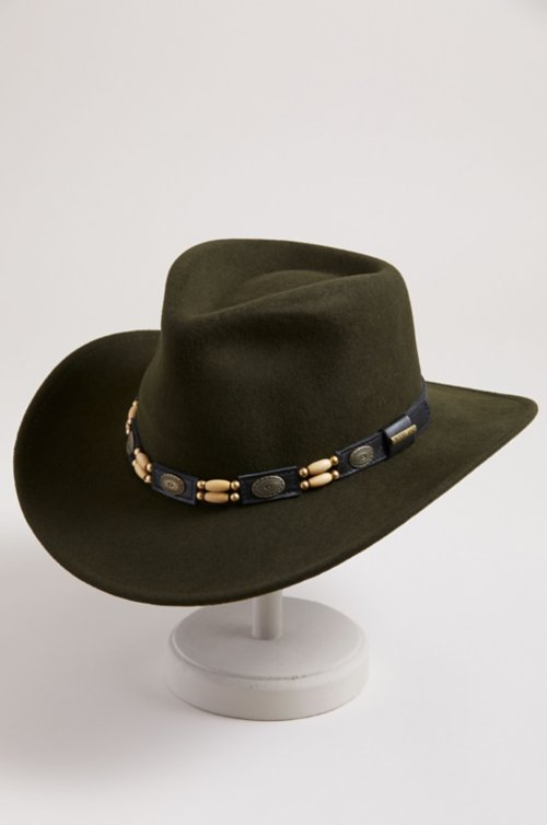 Overland Outback Crushable Wool Felt Cowboy Hat