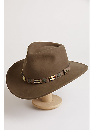 Outback Crushable Felt Cowboy Hat