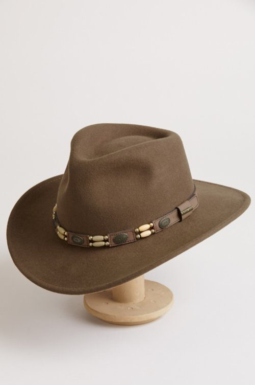 Outback Crushable Wool Felt Cowboy Hat