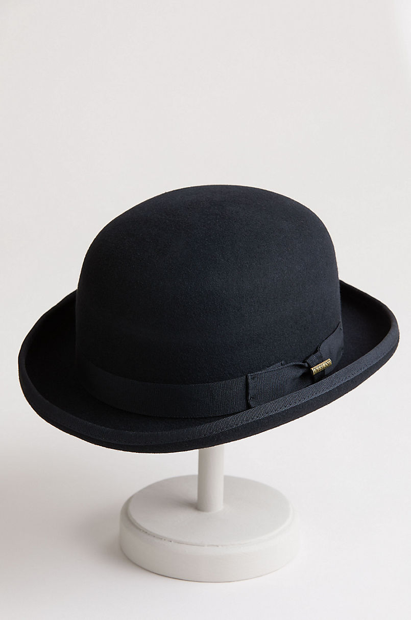 Overland Raine Wool Bowler Hat