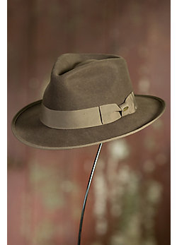 Alema Crushable Wool Fedora Hat