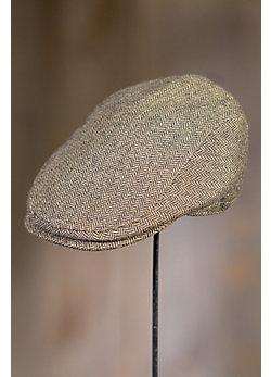 Stetson Emerson Herringbone Wool-Blend Ivy Cap