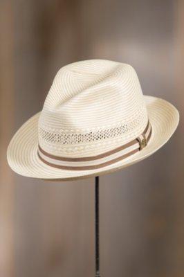 Abby Road Biltmore Straw Fedora Hat