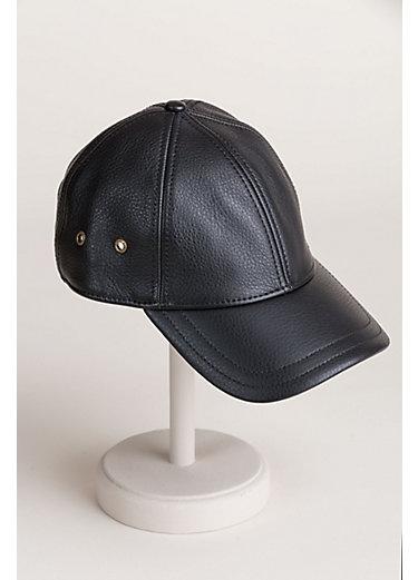 Stetson Antique Leather Baseball Cap