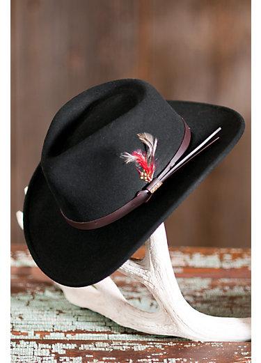 Billings Crushable Wool Waterproof Cowboy Hat