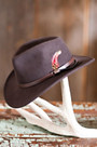 Billings Crushable Wool Waterproof Cowboy Hat