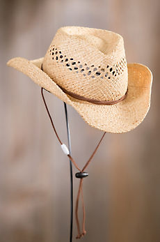 Children's Oklahoma Raffia Cowboy Hat