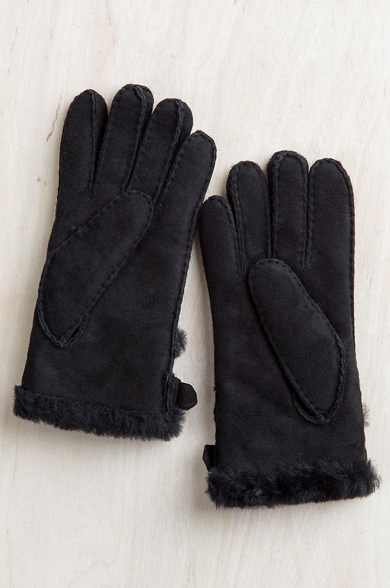 Women's Sassafras Buckled Spanish Sheepskin Gloves