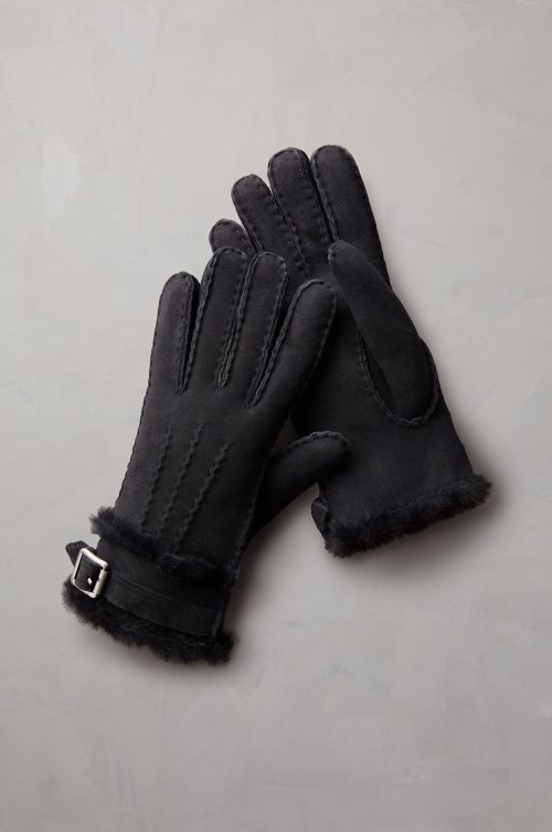 Women's Sassafras Buckled Spanish Sheepskin Gloves
