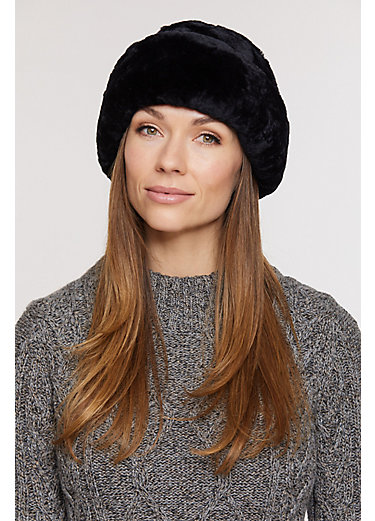 Australian Mouton Shearling Cossack Hat