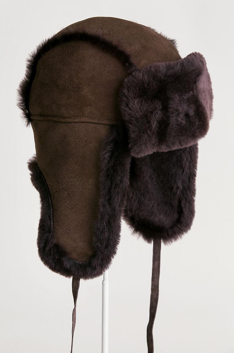 124da45042ee35 AUSTRALIAN MERINO. SHEEPSKIN TRAPPER HAT
