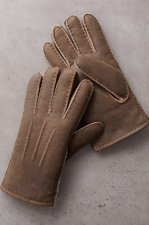 Men's Dogwood Spanish Shearling Sheepskin Gloves
