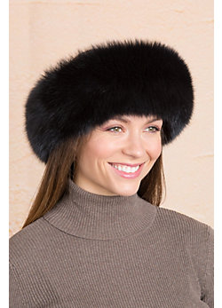 Fox Fur Headband
