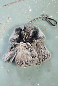 Rex Rabbit Fur Coat Keychain