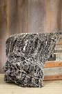 Aragon Knitted Spanish Rex Rabbit Fur Blanket