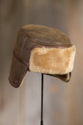 Russian Shearling Sheepskin Hat