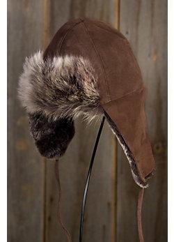 Toscana Shearling Sheepskin Trapper Hat