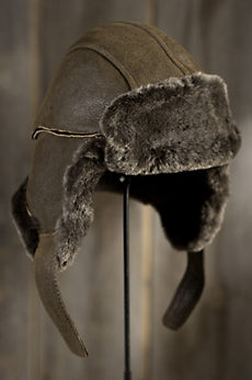 Spanish Merino Shearling Sheepskin Trapper Hat