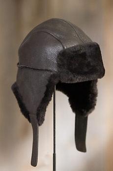 Spanish Merino Shearling Sheepskin Trapper Hat