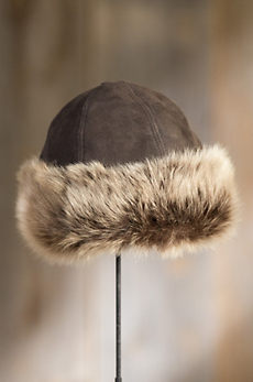 Siberia Merino Sheepskin Cossack Hat with Toscana Trim