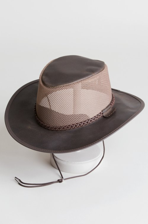 Monterey Bay Crushable Leather Breezer Western Hat