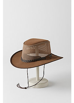 Monterey Bay Leather Breezer Panama Hat