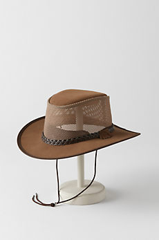 Monterey Bay Crushable Leather Breezer Panama Hat